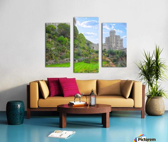 Windsor Castle Under Beautiful Blue Skies - Berkshire United Kingdom Canvas print