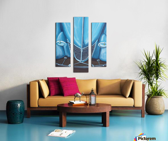 Blue 32  Canvas print