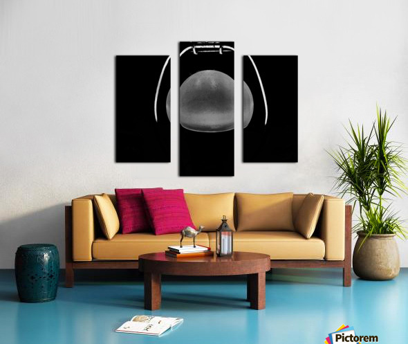 Ideas in Black and White Canvas print