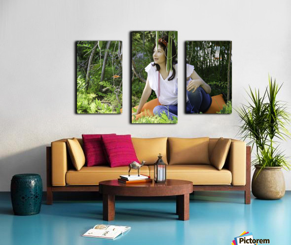 TELL ME MORE...Collection 3-6 Canvas print