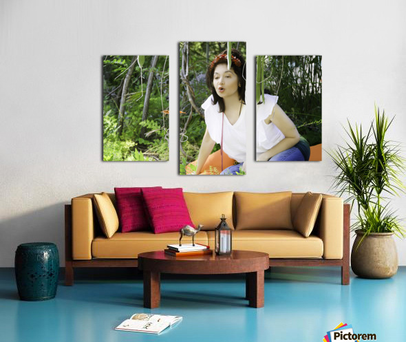 TELL ME MORE...Collection 6-6 Canvas print