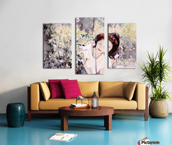 TELL ME MORE Art -Photo Collection  1-6 Canvas print