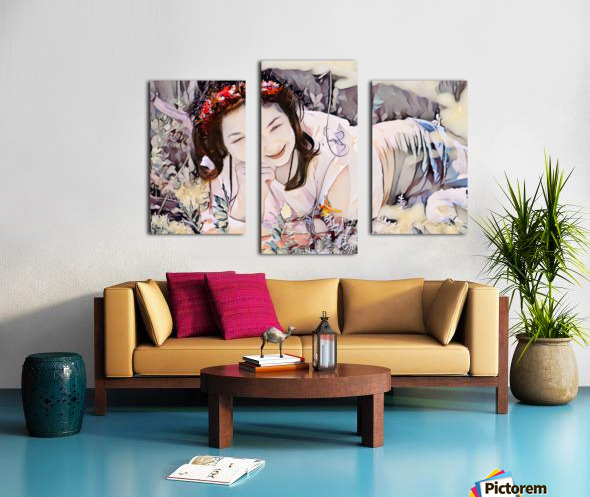 TELL ME MORE Art -Photo Collection  2-6 Canvas print