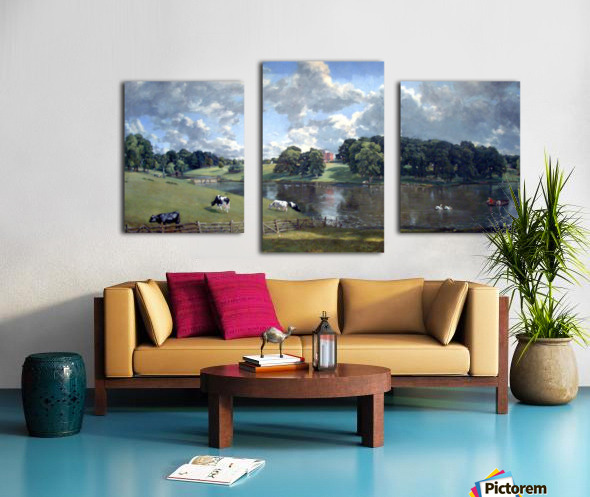Wivenhoe Park by Constable Canvas print