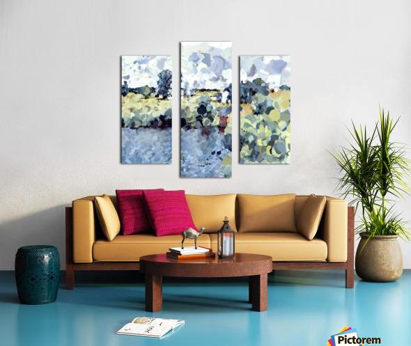 Winterthur Landscape Canvas print