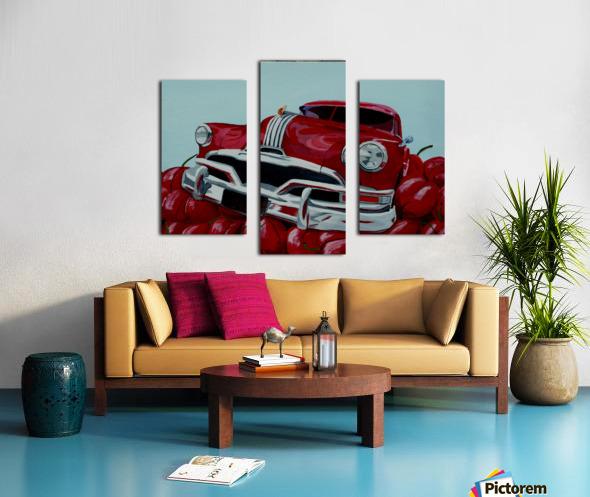 Cherry Ride Canvas print
