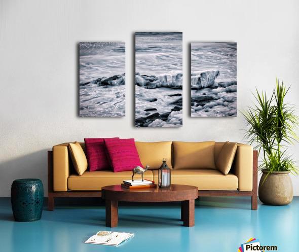 Ice Blue Canvas print