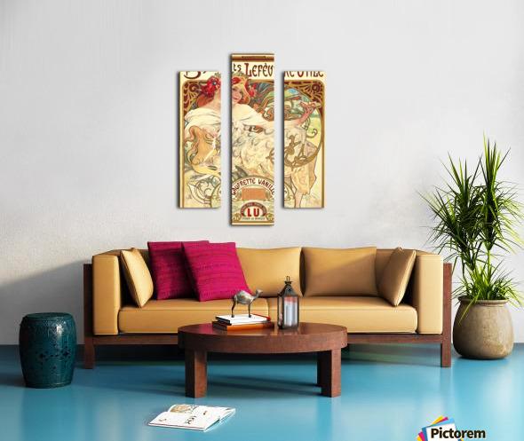 Biscuits Lefevre-Utile Impression sur toile
