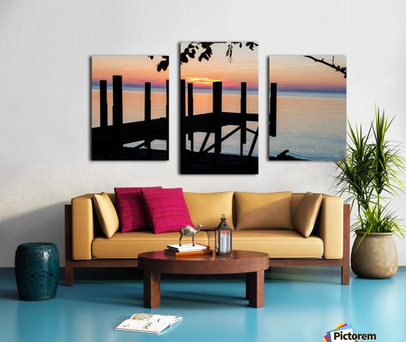 Lake Erie Doc Canvas print