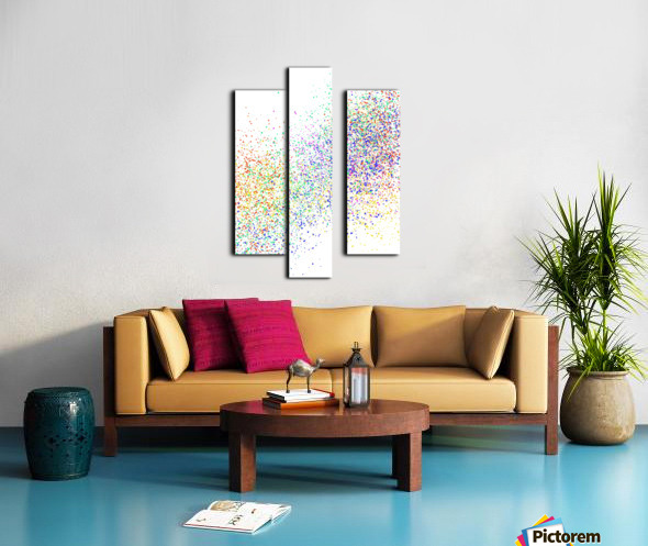 ABSTRACT PAINTING 47 Canvas print