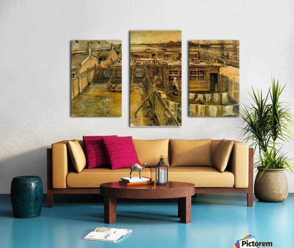 Workshop by Van Gogh Canvas print