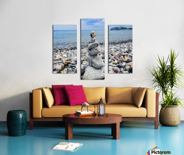 Llandundo beach Canvas print