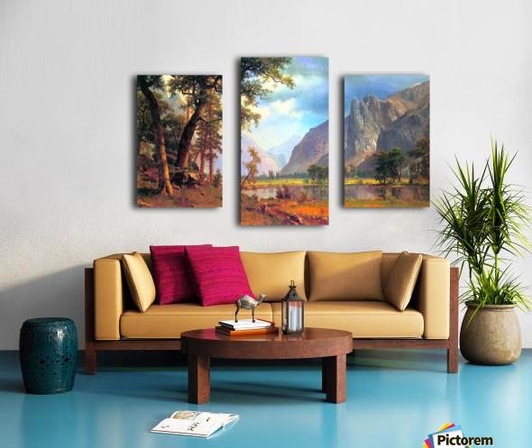 Yosemite Valley 2 by Bierstadt Canvas print