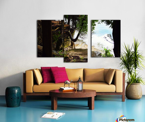 Enchanted Embankment Canvas print
