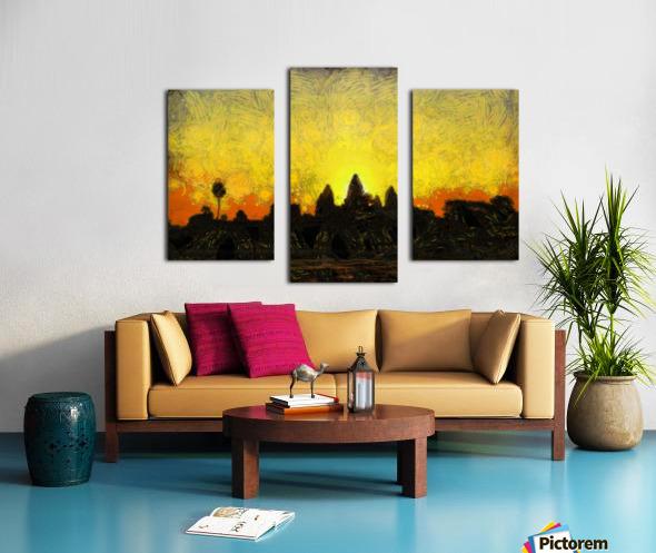CAMBODIA 136 Angkor Wat  Siem Reap VincentHD Canvas print