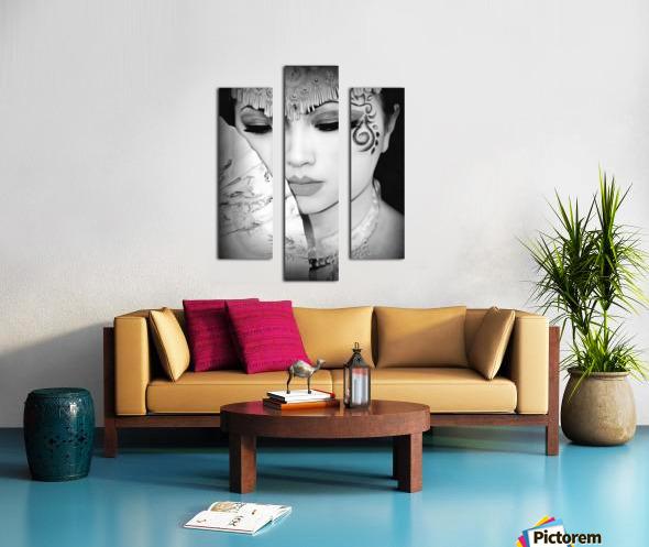 asia 1 Canvas print