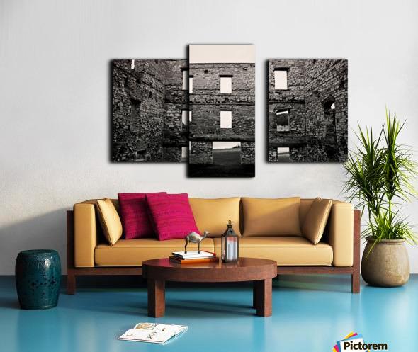 Stone Structure Canvas print