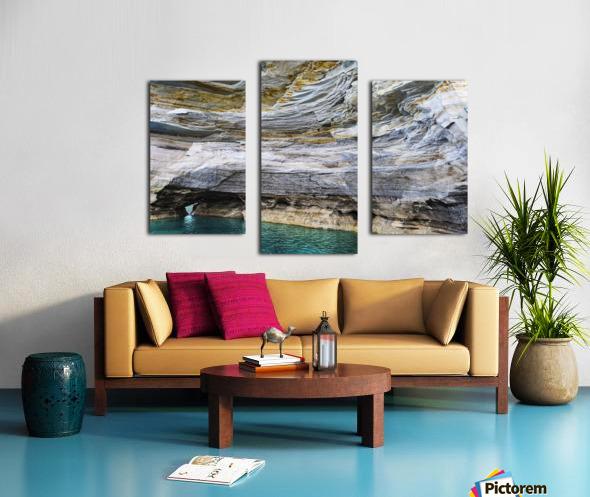 Vertical Vision Canvas print