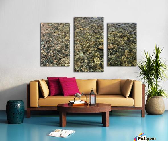 Rocky Reflection Canvas print
