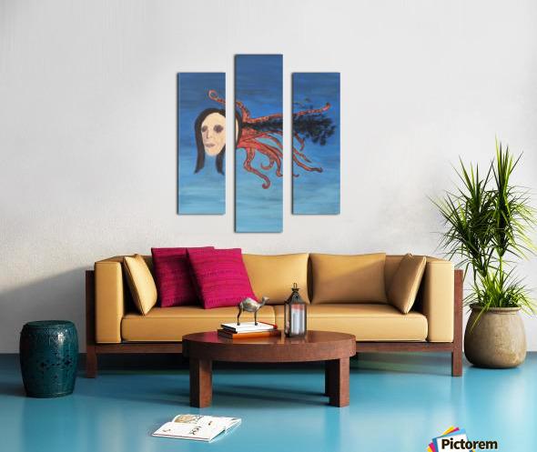 Psychoanalysis Portrait Canvas print