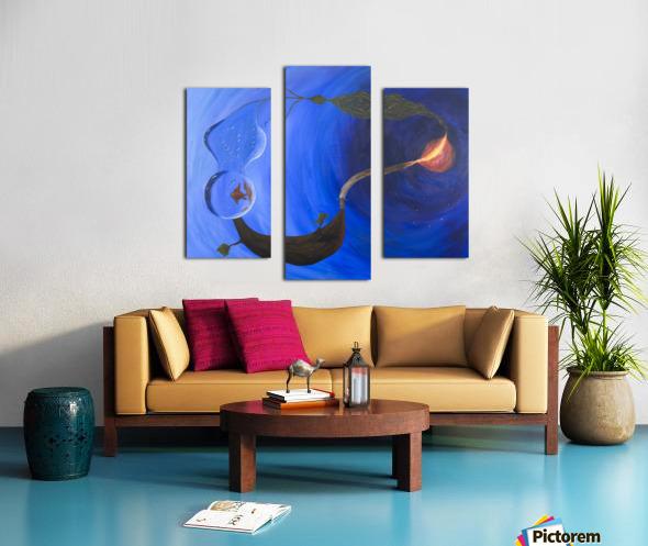 Element Harmony Canvas print