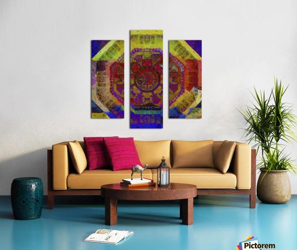 Aztec Dreaming Canvas print