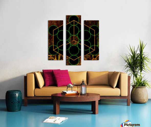 Experiments with Geometry 3 Canvas print