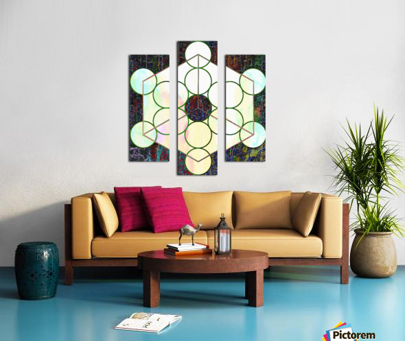 Experiments With Geometry 7 Canvas print