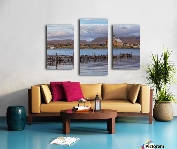 Cheticamp - A placed called home. Canvas print