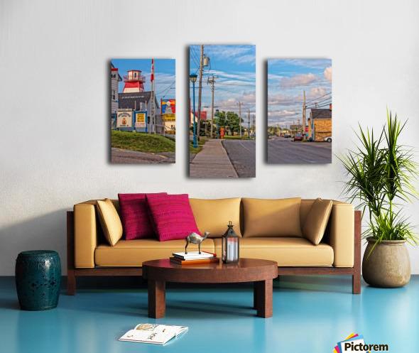 Cheticamp - Main Street Canvas print