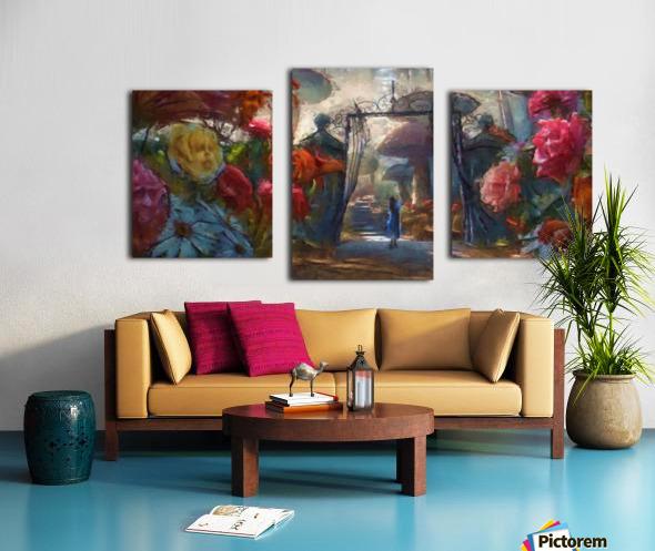 Flowers of Wonderland Canvas print