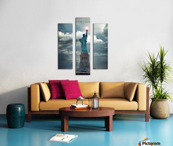 New Colossus Canvas print