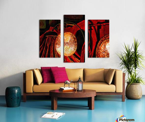 Energy Of Gongs Canvas print