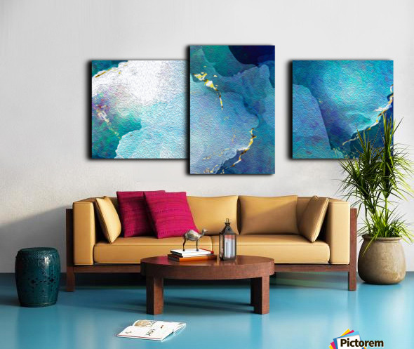 TheDeep Canvas print