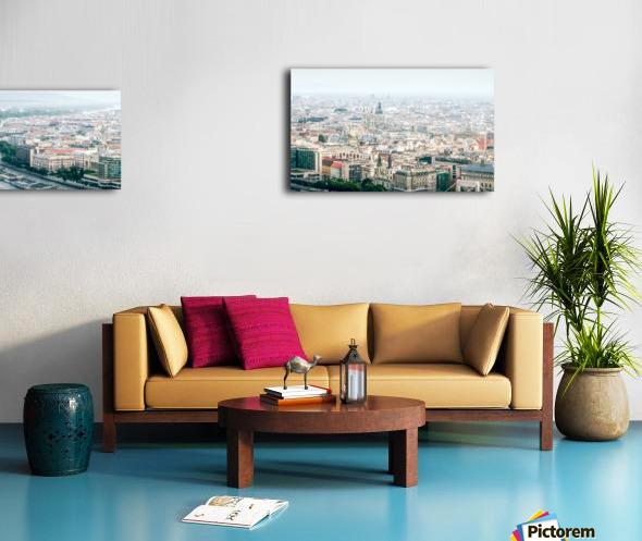 Budapest panorama Canvas print