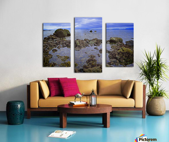 Tranquility at Low Tide Canvas print