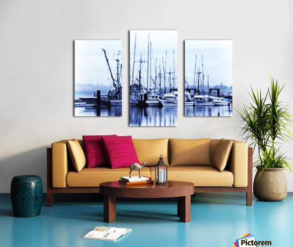 Fishers Wharf Canvas print
