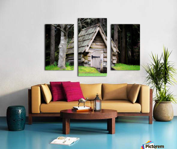 Old Root House Canvas print