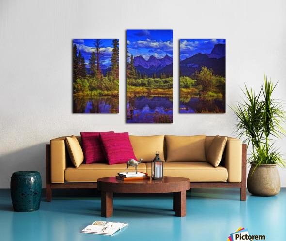 Three Sisters Peaks Canvas print