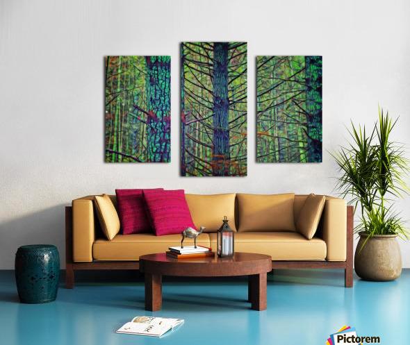 Forest Splendor Canvas print