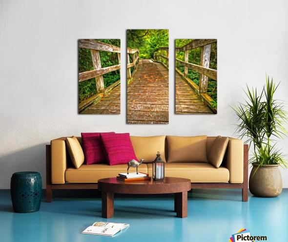 Bridge in the Sanctuary Canvas print