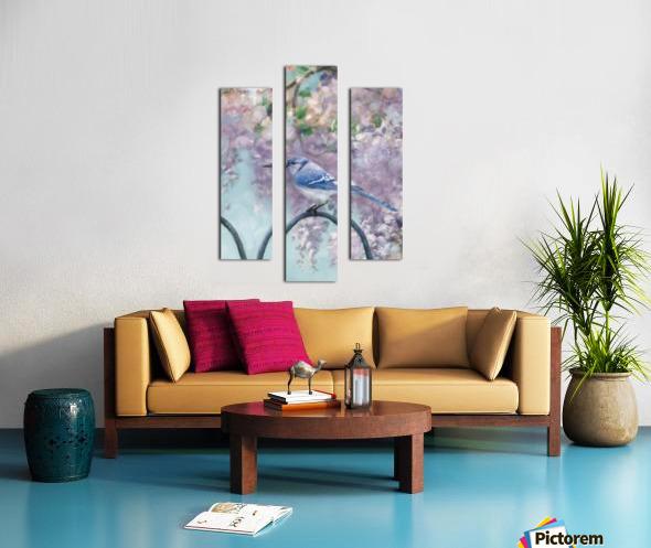 Garden bird Canvas print