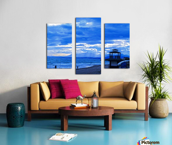 Gone Fishing  Costa Del Sol  Spain 1 of 2 Canvas print