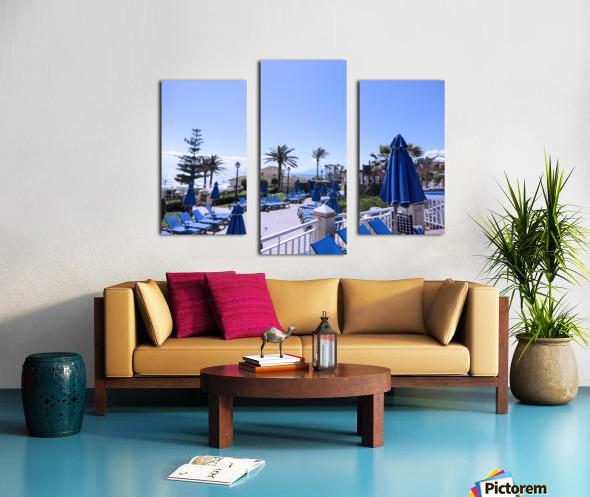 Costa del Sol Andalusia Spain 3 of 4 Canvas print
