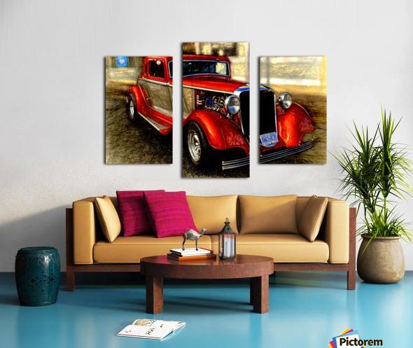 1933 Dodge Coupe Canvas print