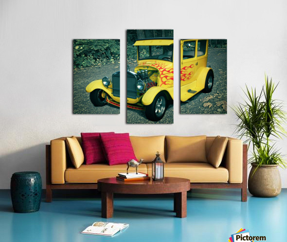 1927 Ford Model-T Canvas print