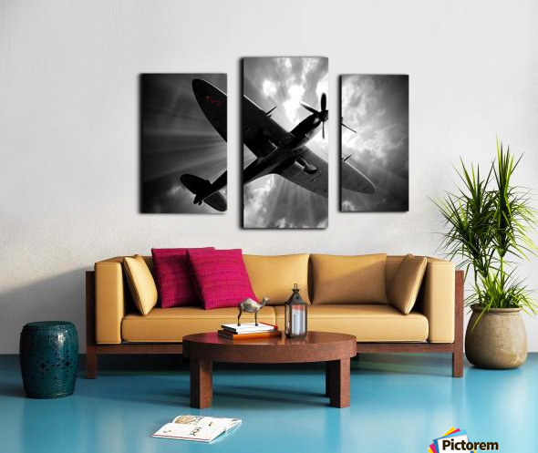 Spitfire Angel Limited Edition 50 Prints only Canvas print