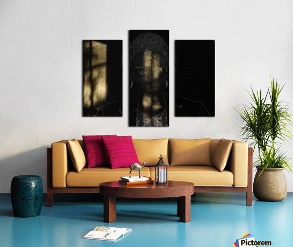 Entrer dans la lumiere -  Step into the light Canvas print