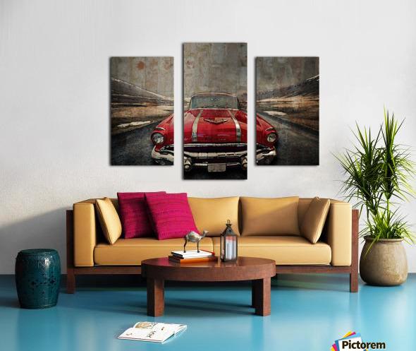 1956 Pontiac Strato-Streak Canvas print