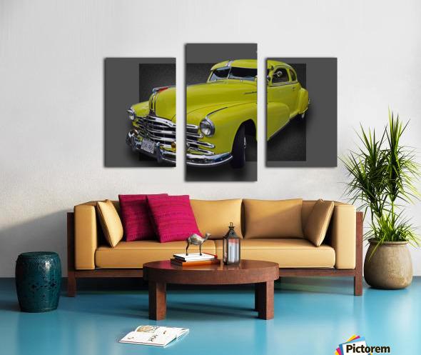 1948 Pontiac Silver Streak Canvas print